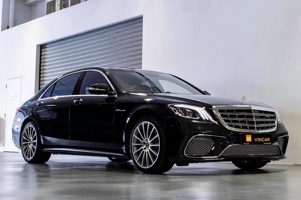 Latest facelifted Mercedes-Benz S500 is now available!