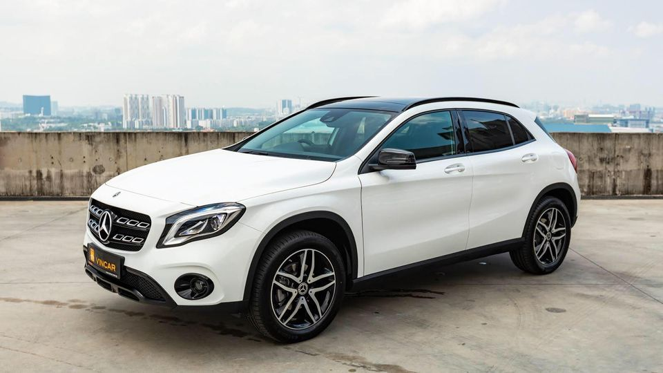 Leasing packages with VINCAR: Mercedes-Benz GLA180