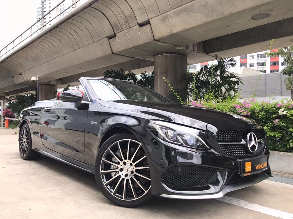 Let the Mercedes-AMG C43 Cabriolet pictures impress you