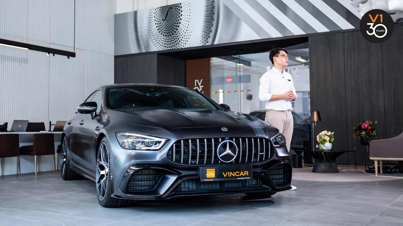 Let us VROOM with Mercedes-AMG GT 63 S 4MATIC+ EDITION
