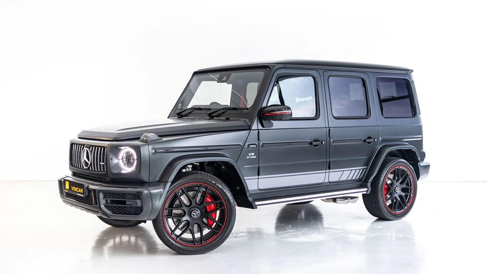 Looking great and living large Mercedes-Benz G-Class