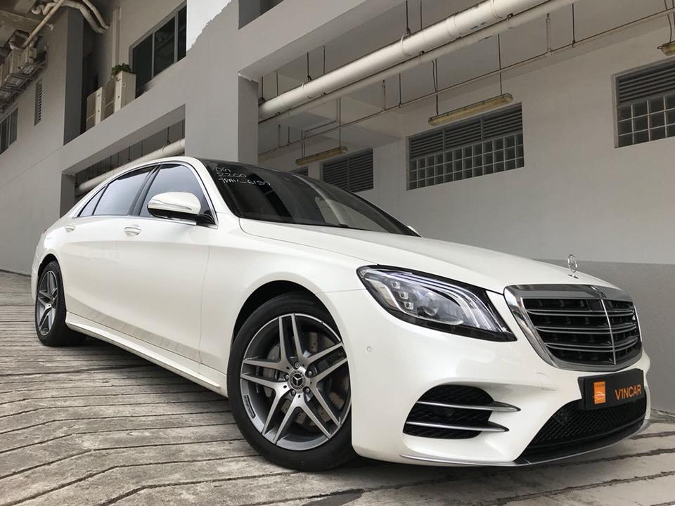 Luxurious Mercedes-Benz S500L Saloon AMG