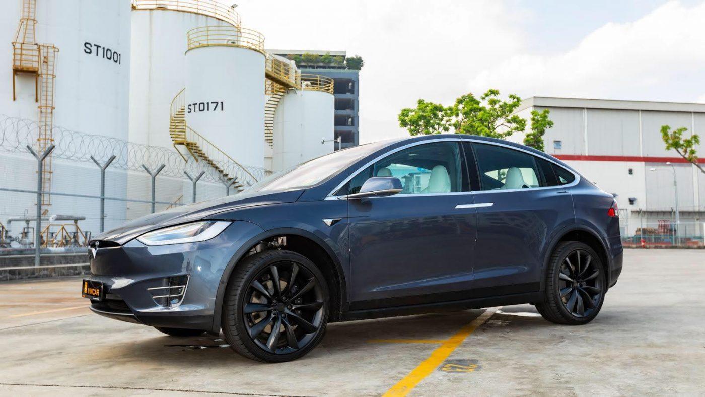 Luxury Electric SUV Tesla Model X 100D