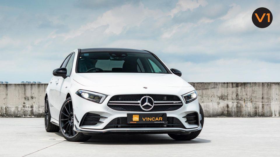 Mercedes-AMG A35 4MATIC Saloon Premium Plus - now at VINCAR