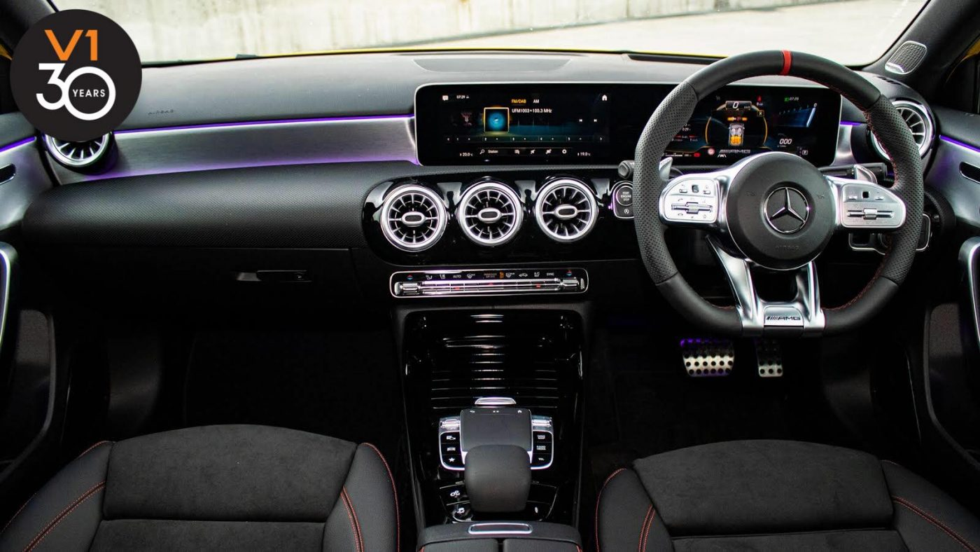 Mercedes-AMG A35 4MATIC with AMG Night Package - Interior Dash