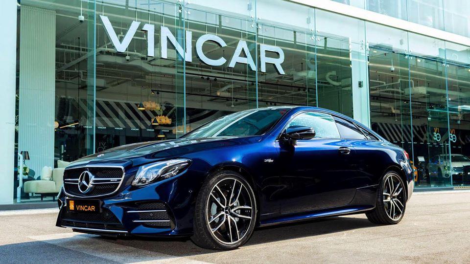 Mercedes-AMG E53 4MATIC+ Coupe - Side Profile