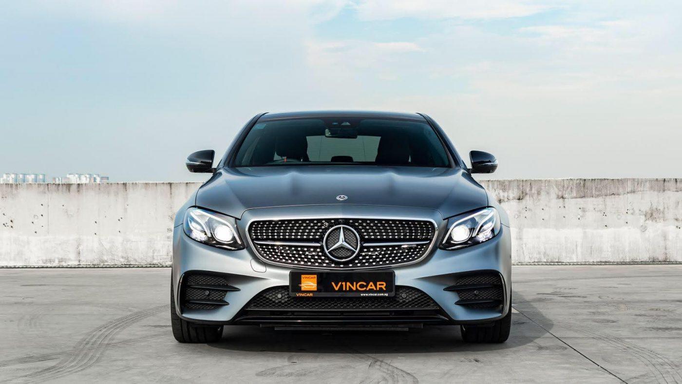 Mercedes-AMG E53 4MATIC Sedan - Front