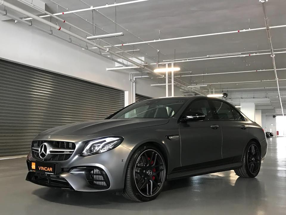 Mercedes-AMG E63S Edition 1 putting sports car to shame