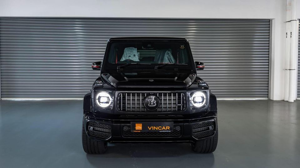 Mercedes-AMG G63 Edition 1 + BRABUS - Front