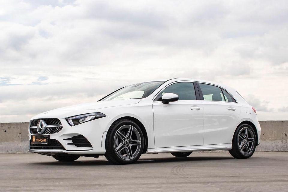 Mercedes-Benz A-Class More colors, variants, trim levels