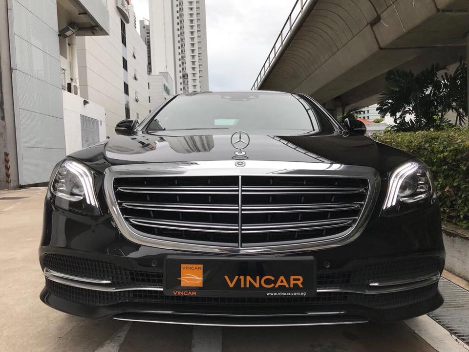 Mercedes-Benz S320L rolled in at VINCAR today