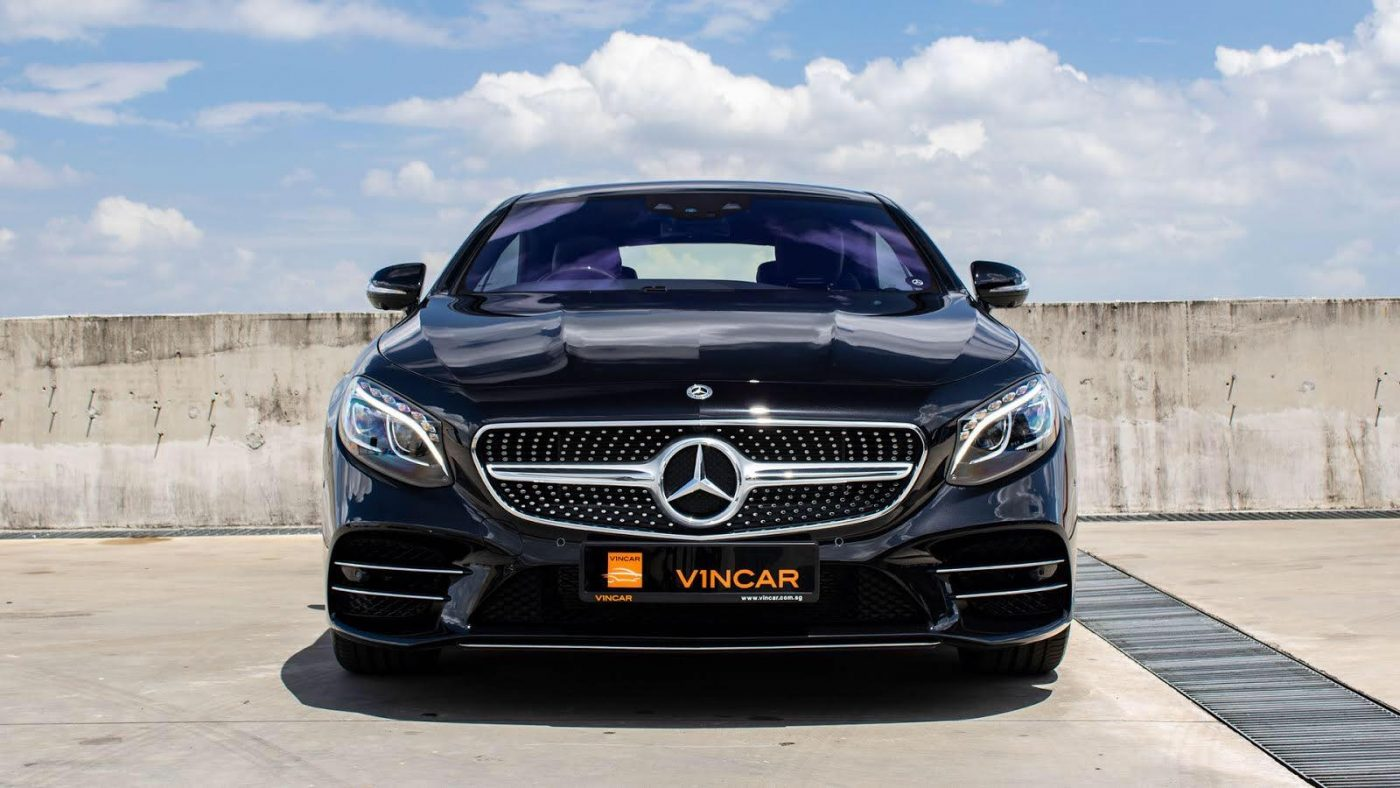 Mercedes-Benz-S560-Coupe-AMG-Line-Front