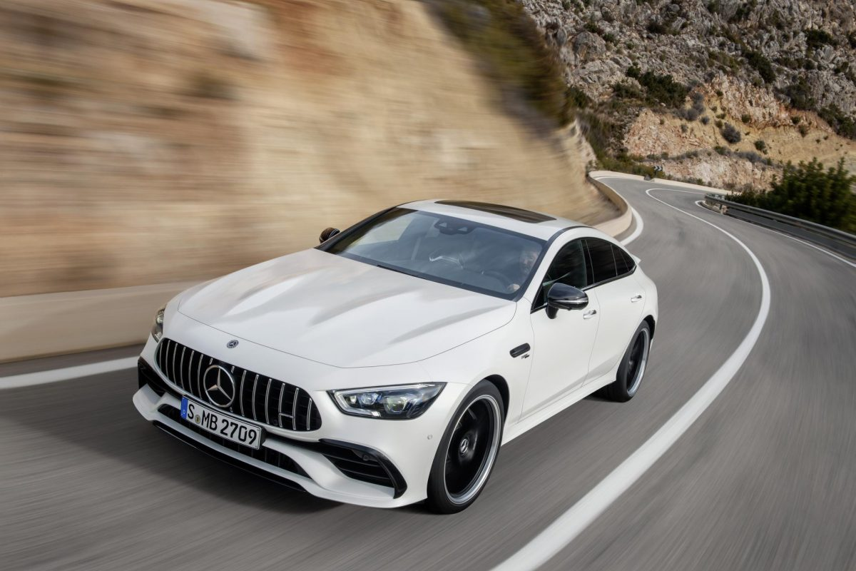 More space, power, more goose pimples - Mercedes-AMG GT