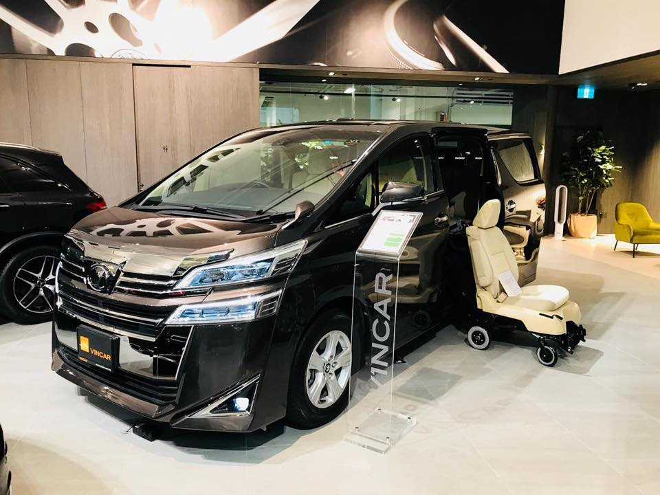 Movable seats available with Toyota Welcab MPVs