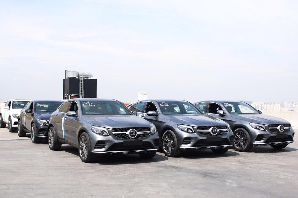 New Arrival of Mercedes-Benz GLC250 Coupes BRABUS-upgrade