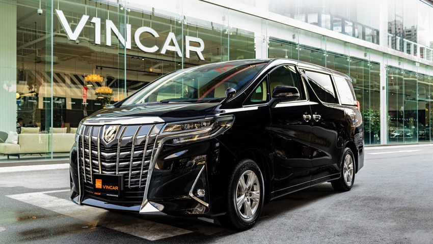 New units of the Toyota Alphard 2.5X have arrived