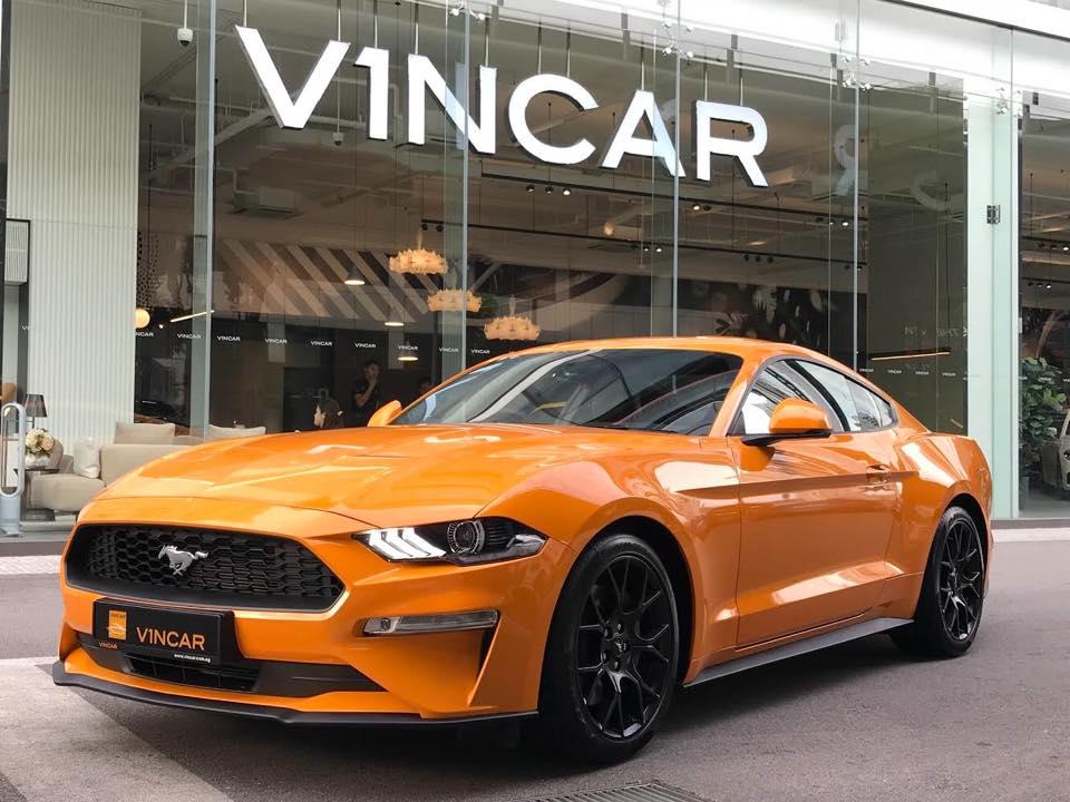 Orange Fury Ford Mustang 2.3 EcoBoost at VINCAR