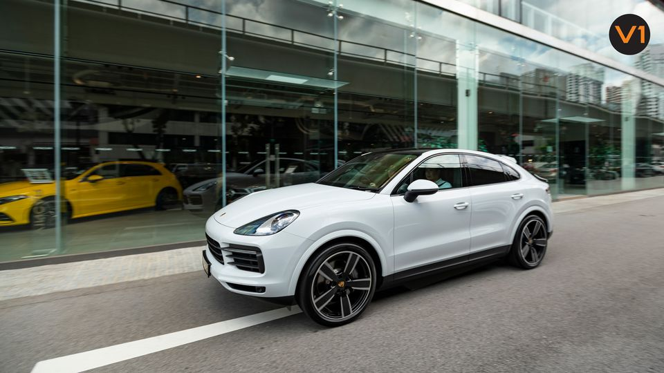 Performance-oriented SUV: Porsche Cayenne S Coupe