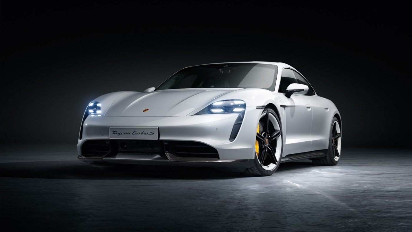Photos of the Porsche Taycan Turbo and Turbo S-3