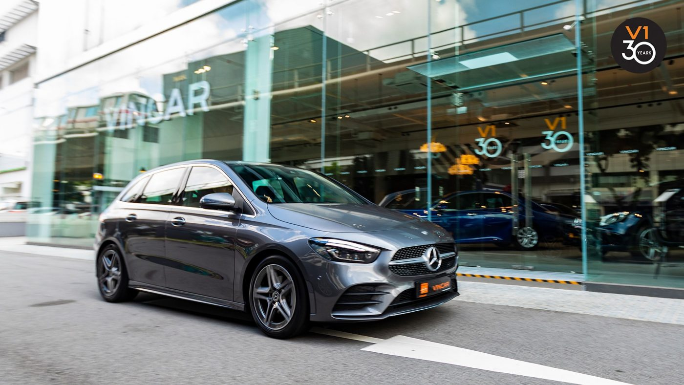 Plenty of Comfort with Mercedes-Benz B200 AMG Premium Plus