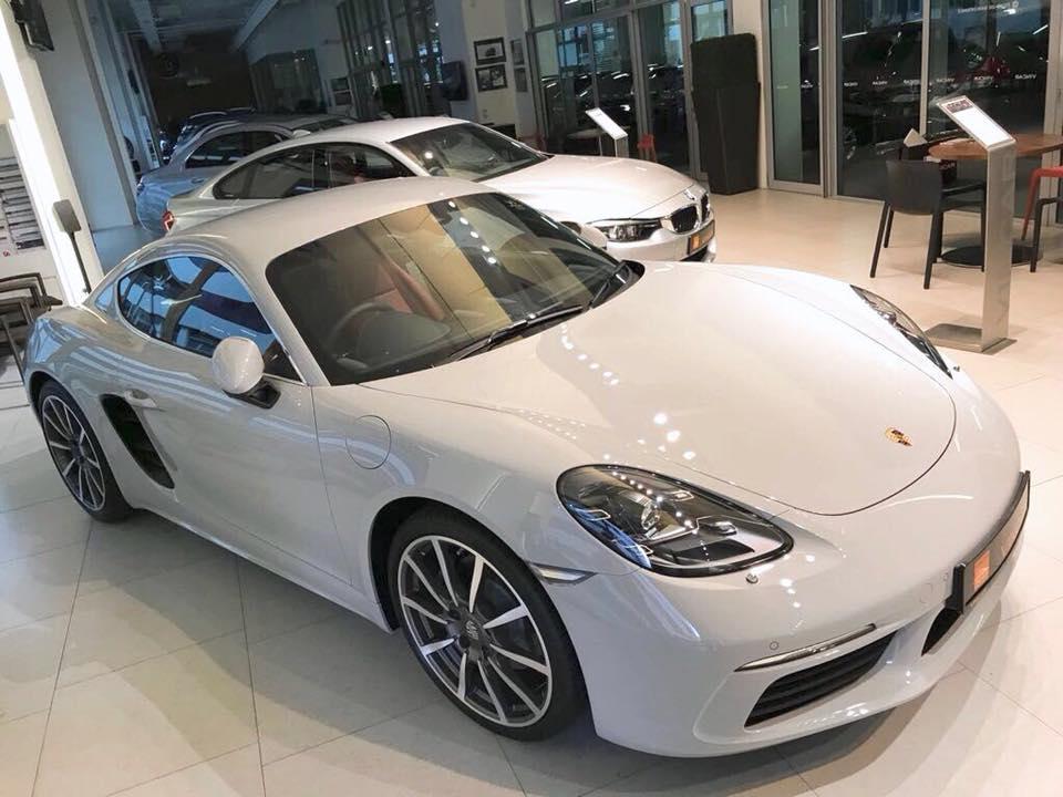 Porsche 718 Cayman has unique turbocharged engine