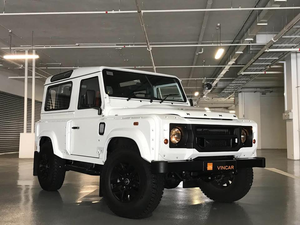 Pre-owned inventory Land Rover Defender Storm Rider