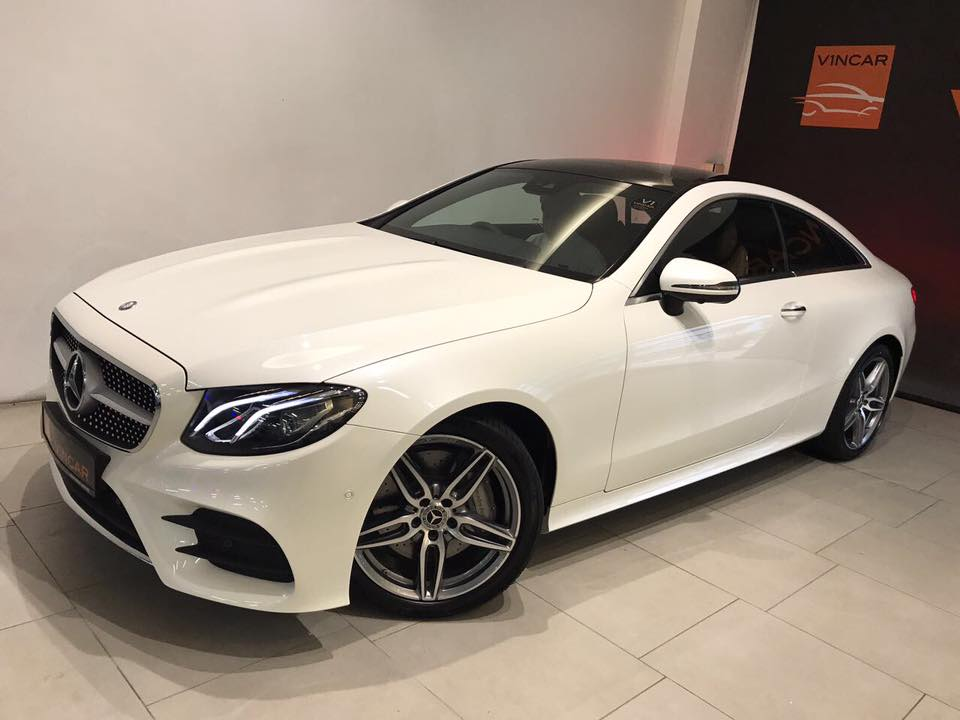 Sleek lines and more - Mercedes-Benz E300 Coupe AMG Line