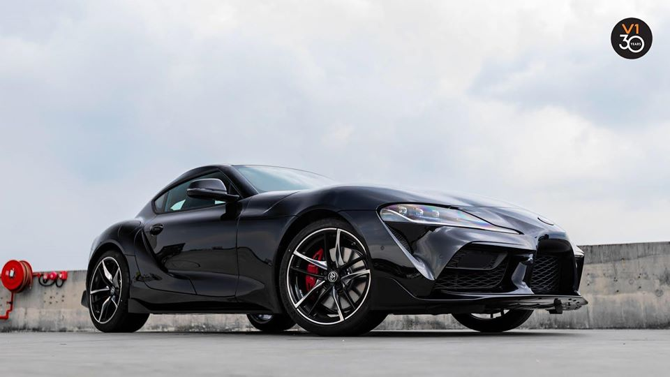 Strong stopping performance of the Supra GR 3.0