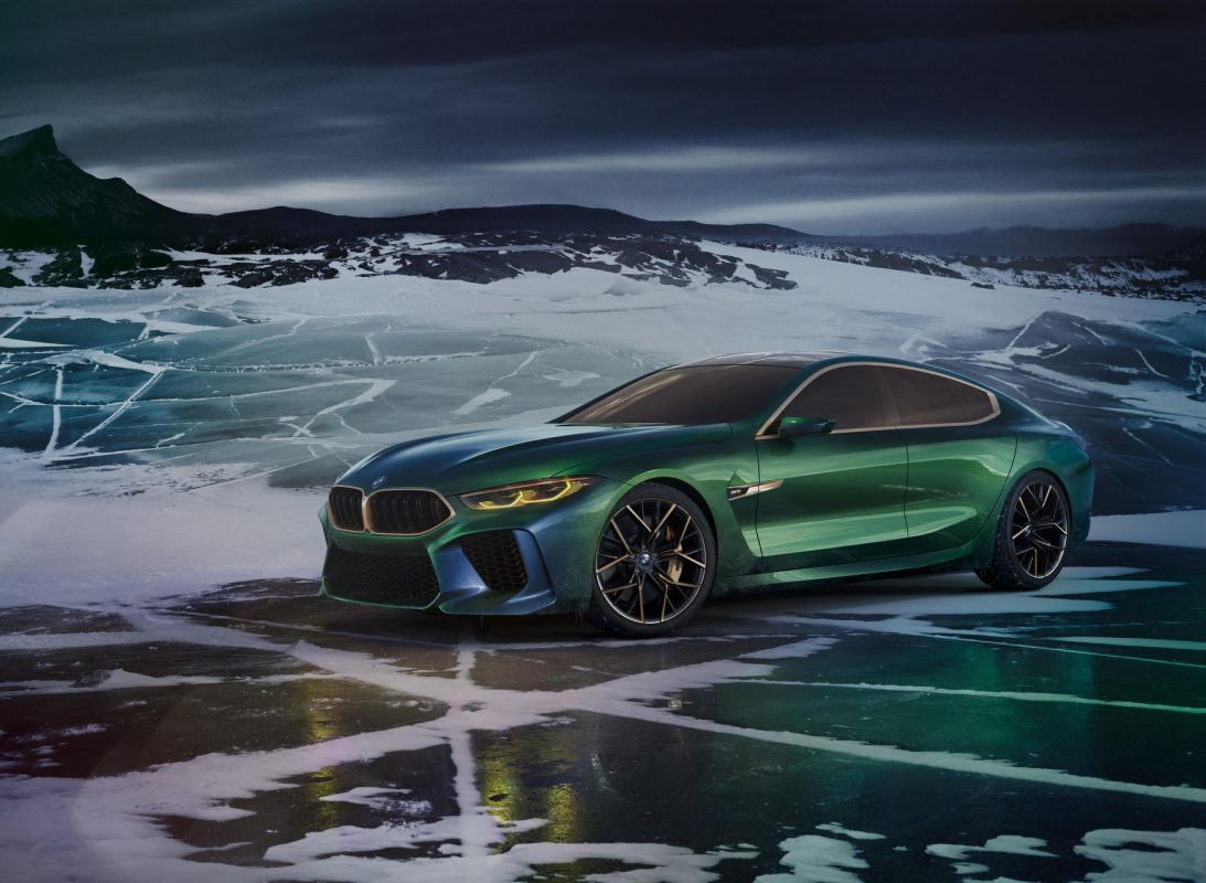 The BMW Concept M8 Gran Coupe stands for more of everything