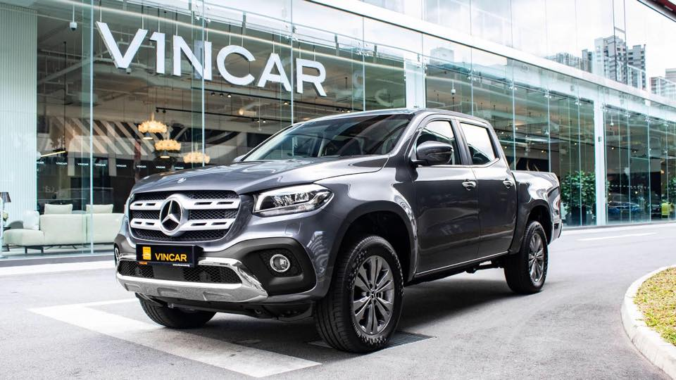 The Mercedes-Benz X250d the all-capable X-Class