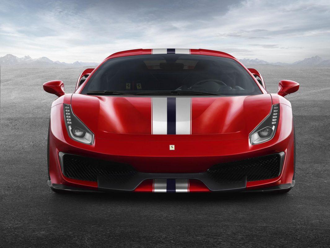V8 engined Ferrari 488 Pista