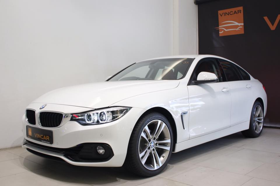 The new BMW 420iA Sport Gran Coupe arrived today