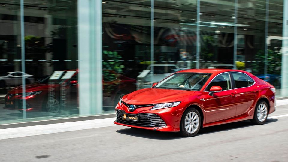 Tune in to VINCAR's Vroom Channel for these Camry saloons!