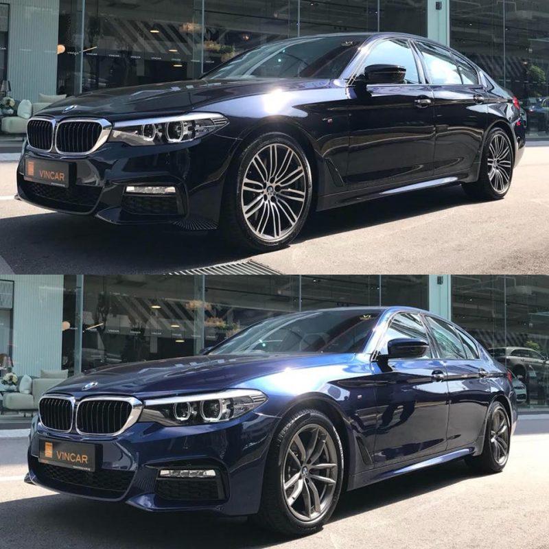 Twinning BMW 530i M Sport and BMW 520i M Sport