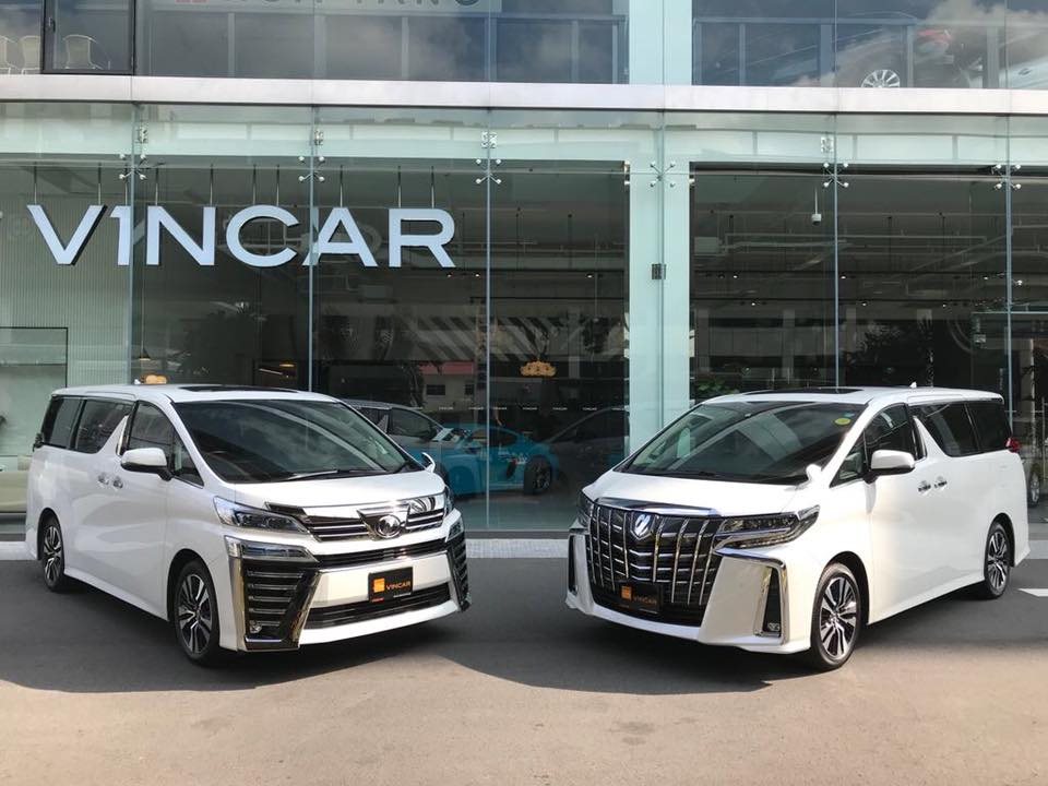 Two Luxury MPV's are here Toyota Alphard and Vellfire