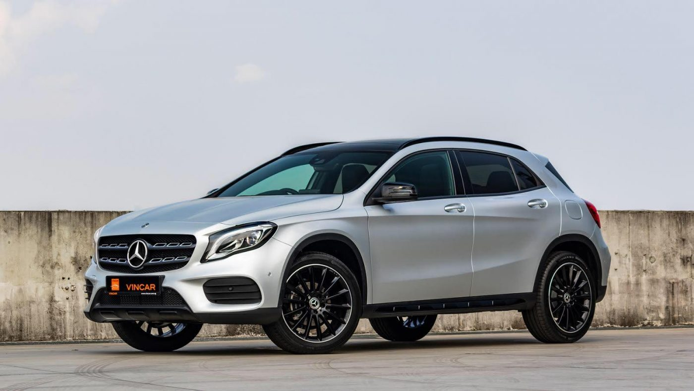 Two new Mercedes-Benz GLA180 Edition Plus variants at VINCAR