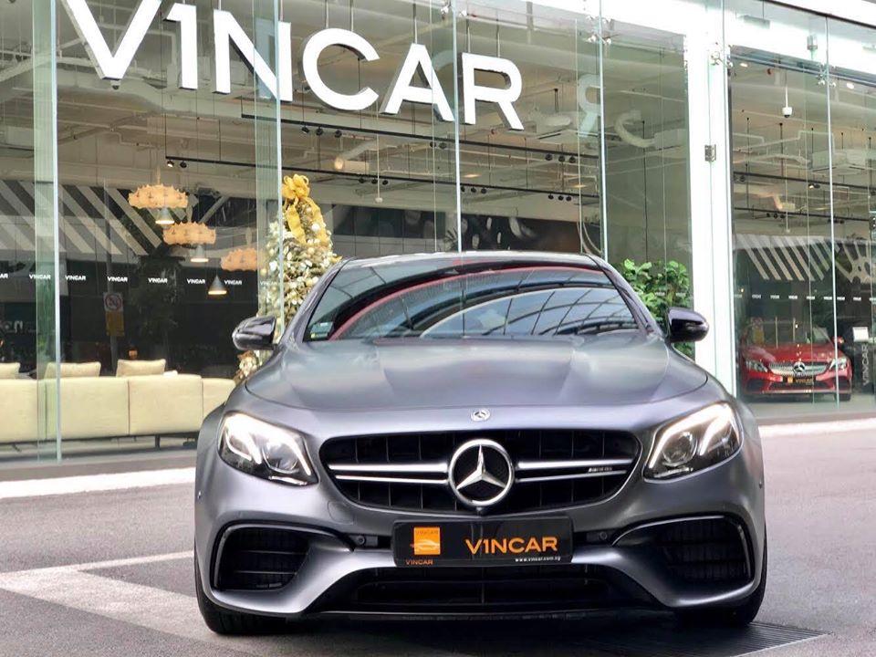 Uber high powered saloon Mercedes-Benz E63S Edition 1