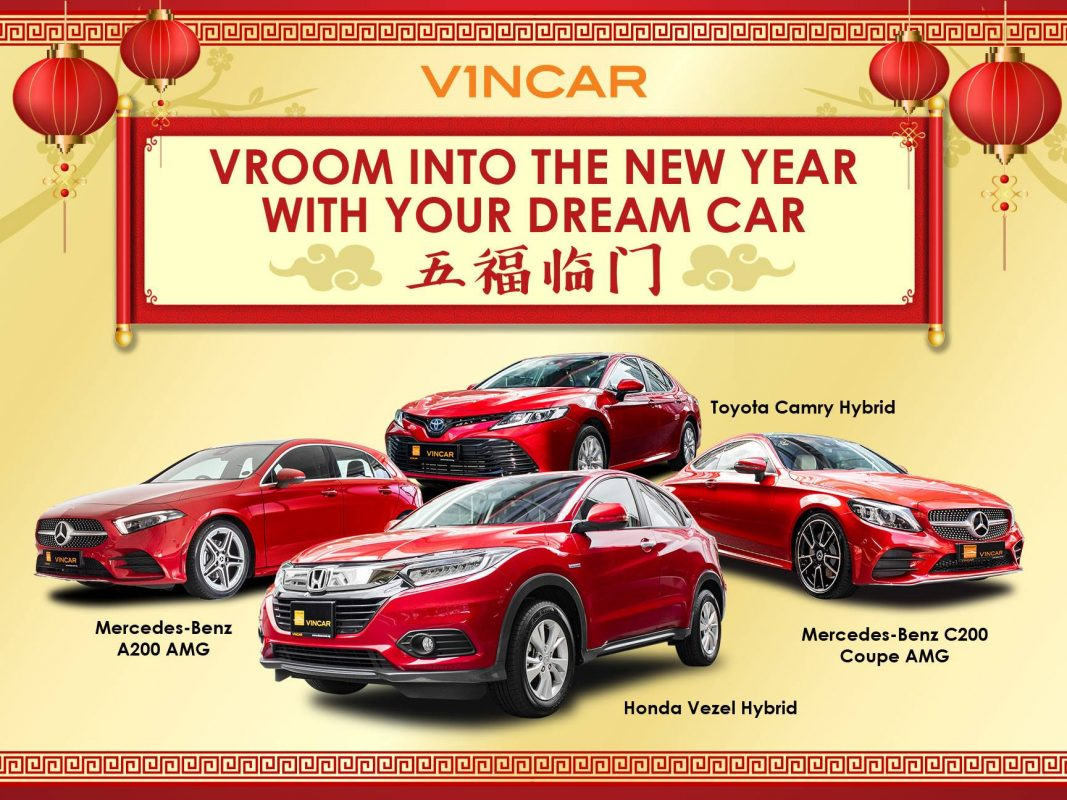 Vroom into the New Year with your new car
