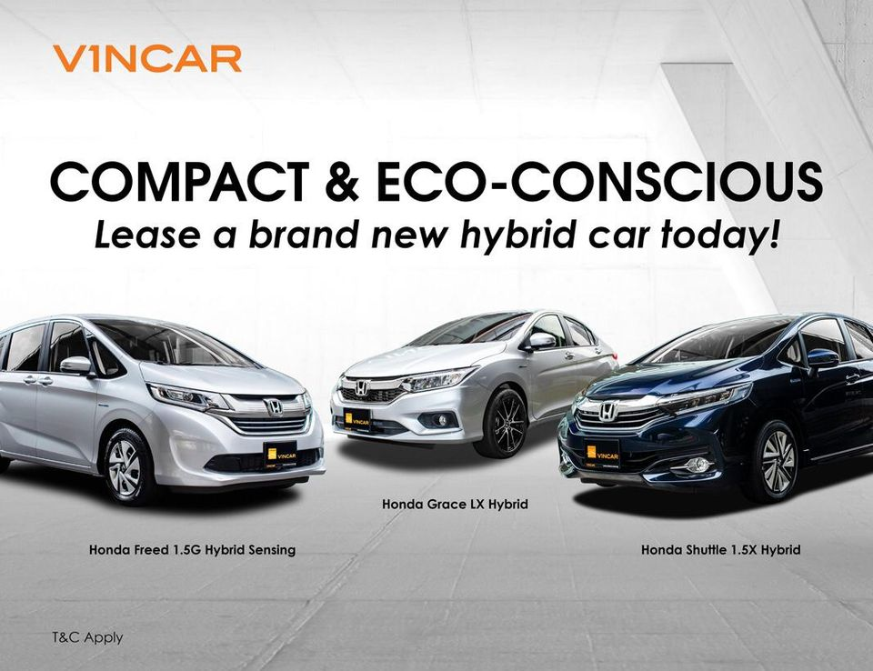 Lease a car today from VINCAR