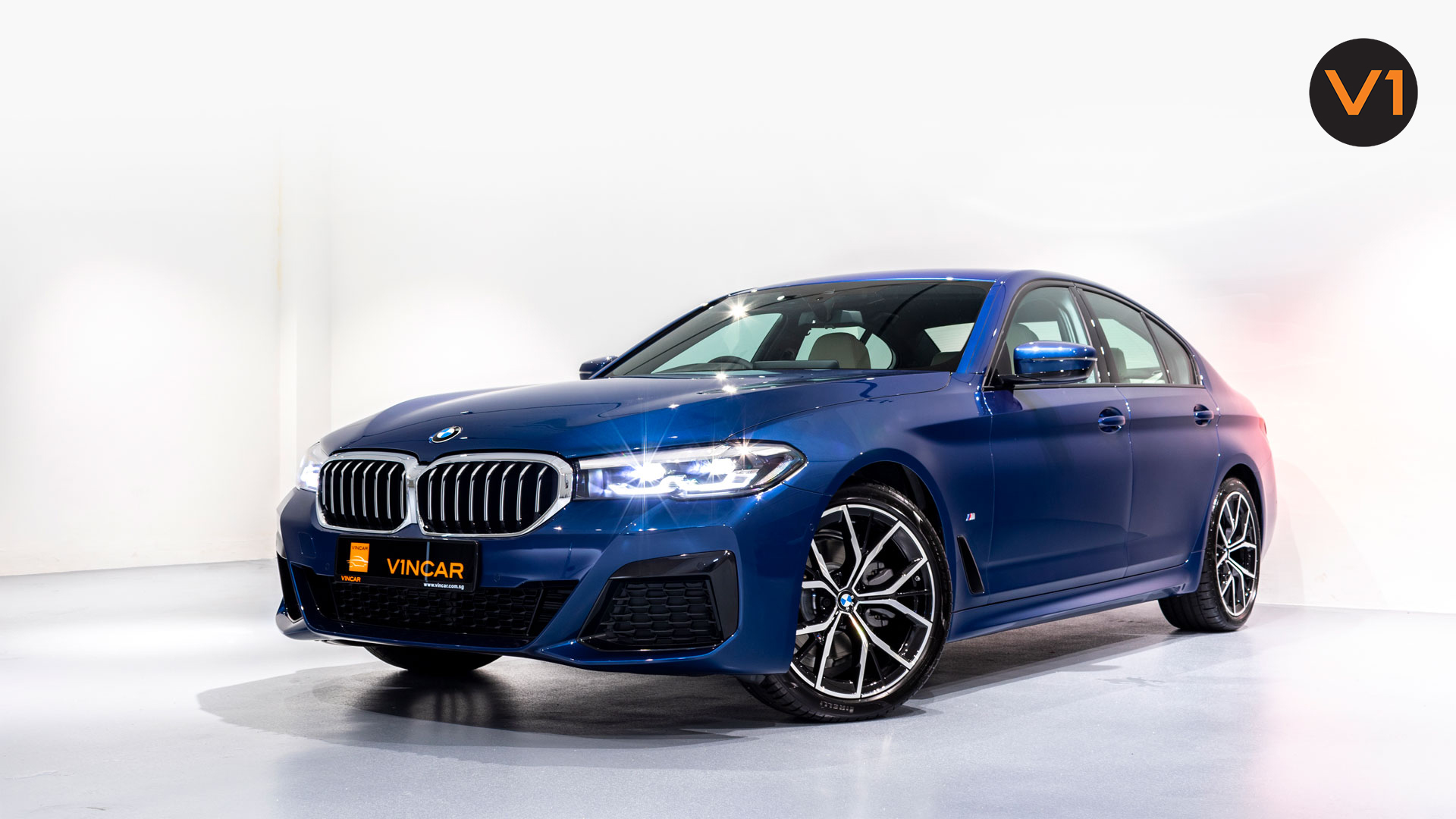 BMW 520I M Sport Saloon - Front Angle