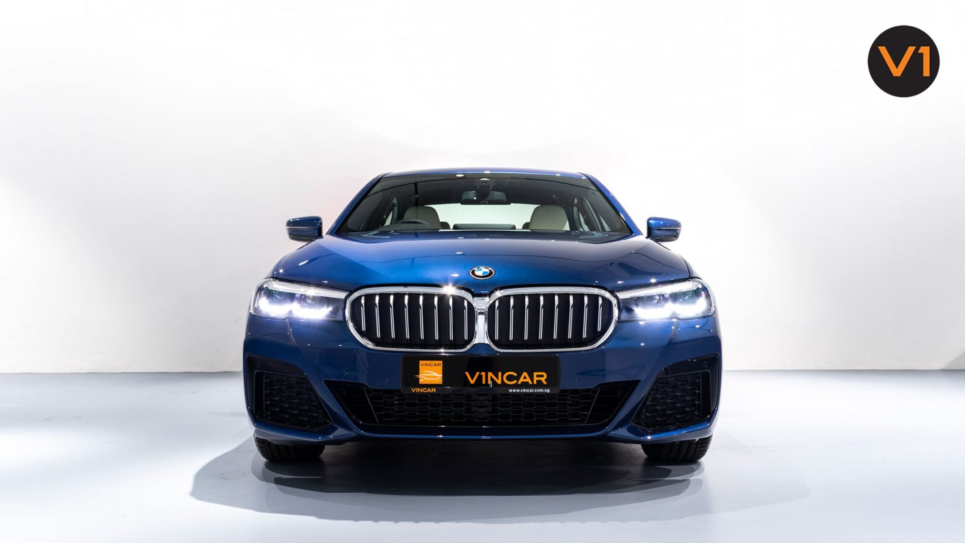 BMW 520I M Sport Saloon - Front Direct