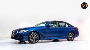 BMW 520I M Sport Saloon - Side Profile