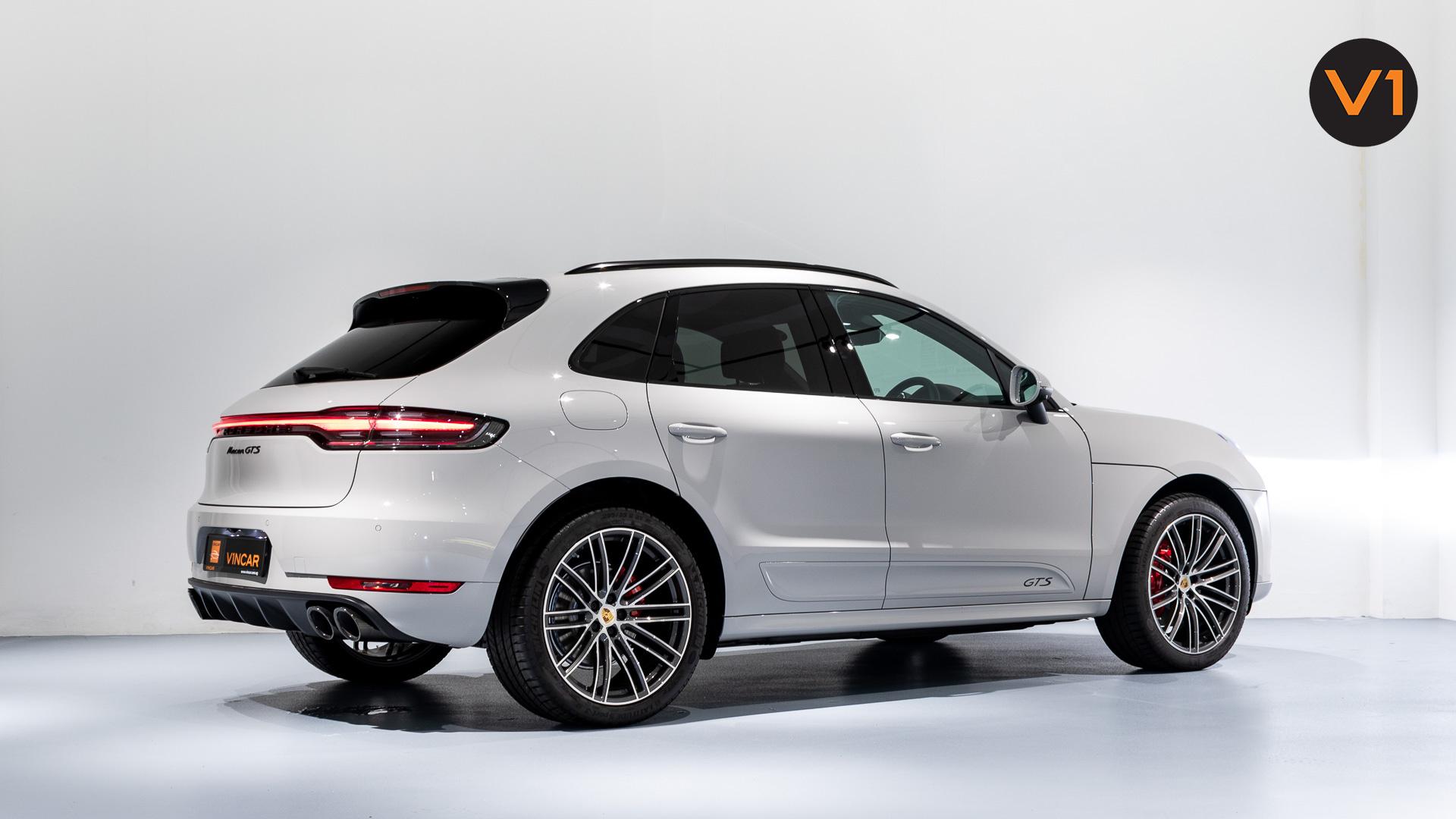 Porsche Macan GTS - Rear Side Profile