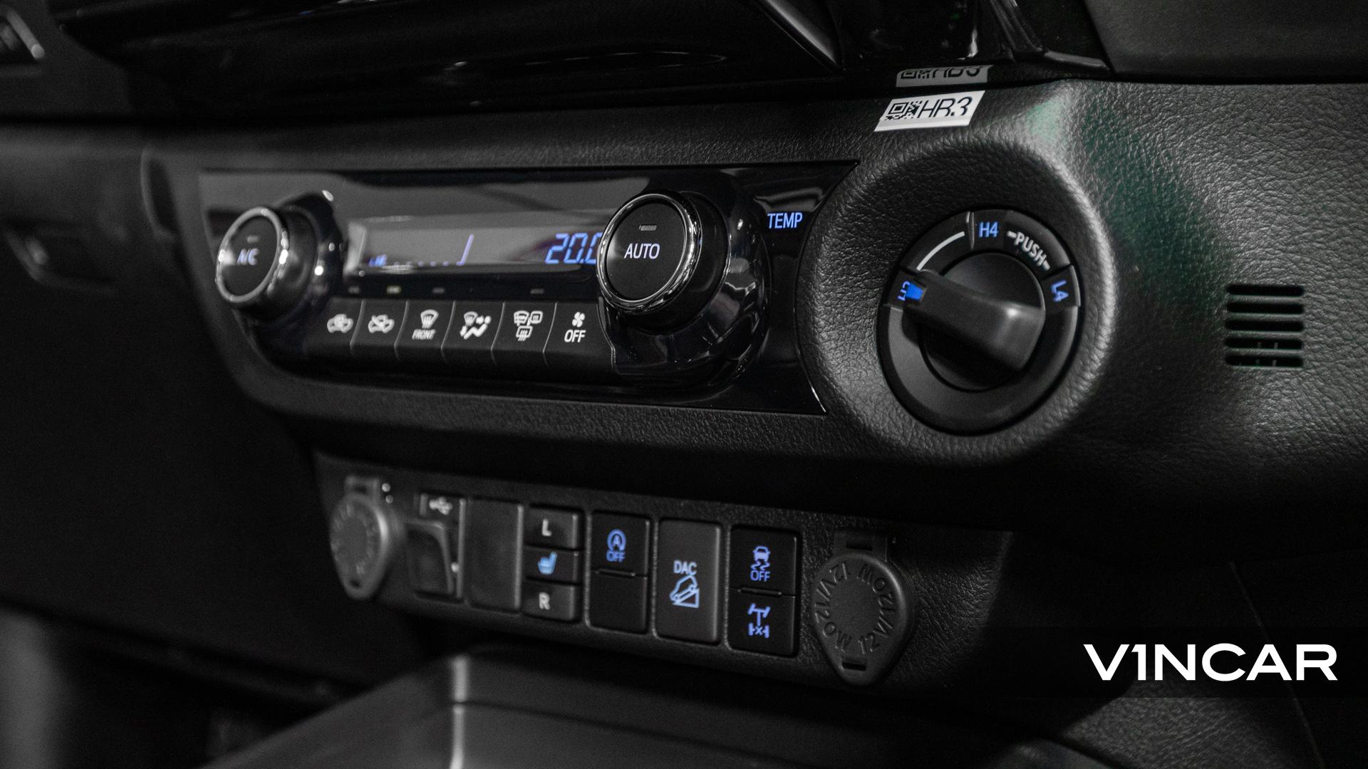 Toyota Hilux Double Cab Auto Invincible X (FL2021) - Infotainment Control Buttons 1