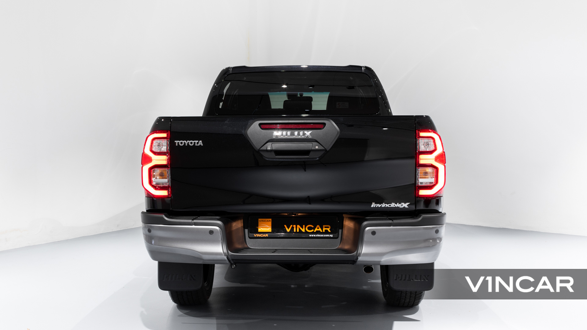 Toyota Hilux Double Cab Auto Invincible X (FL2021) - Rear Direct