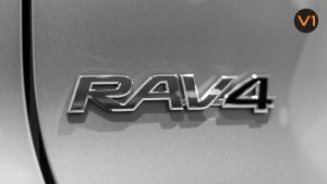 Toyota RAV4 2.5 GX Hybrid - RAV4 Badge