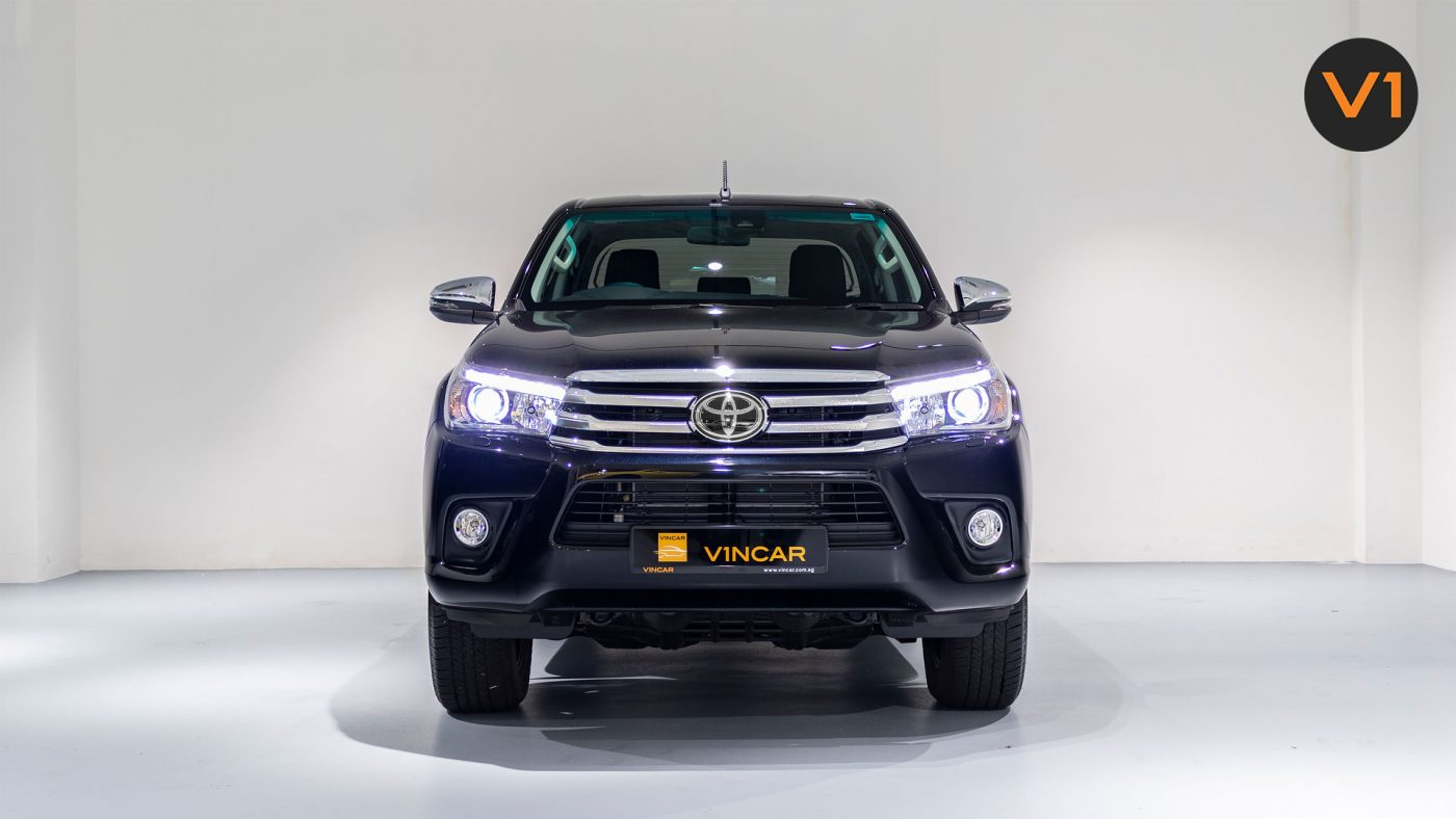 Venerable Toyota Hilux pickup has finally rolled in