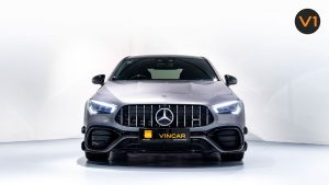 Mercedes-AMG CLA45 S Coupe AMG 4MATIC+ Plus - Front Direct