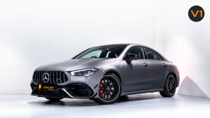 Mercedes-AMG CLA45 S Coupe AMG 4MATIC+ Plus - Front Lower Angle