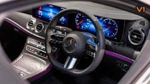 Mercedes-Benz E220D Saloon AMG - Steering Wheel
